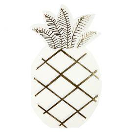 Serviettes forme ananas