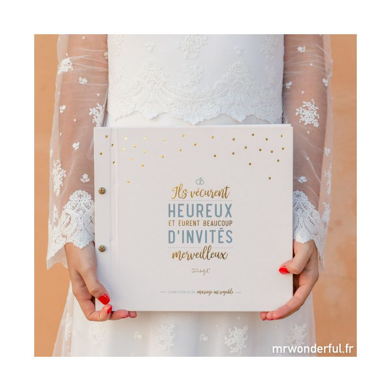 livre d 39 or d 39 un mariage incroyable modern confetti. Black Bedroom Furniture Sets. Home Design Ideas