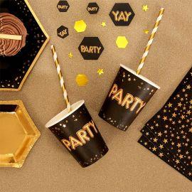 Gobelets de fête en carton