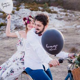 Ballons couple parfait
