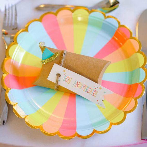 Assiettes pastel