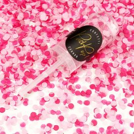 Confettis push pop rose